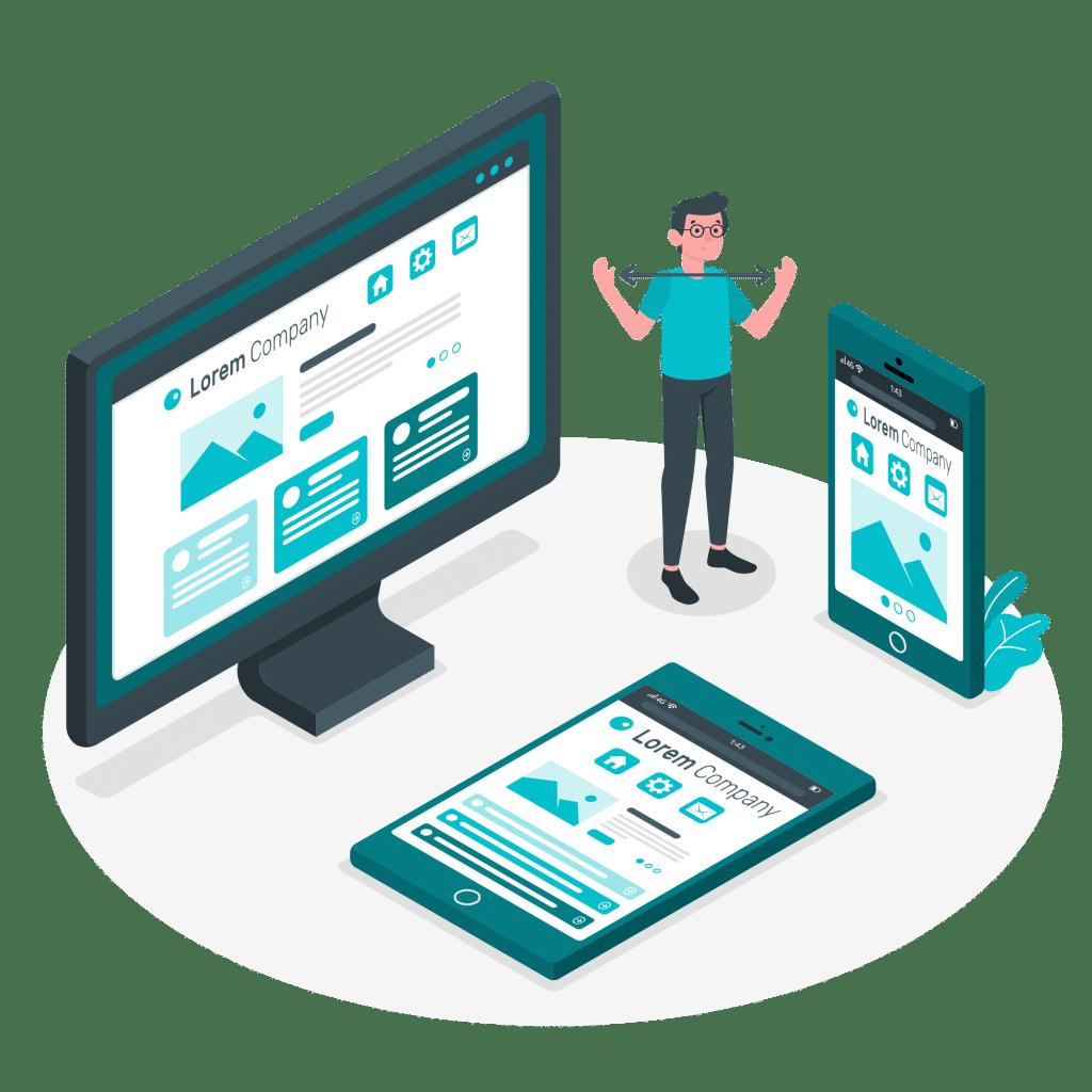 ROAN24 Responzivní design webových stránek